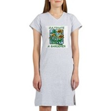 Cultivate A Gardener Women's Nightshirt