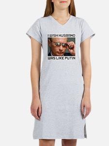 """Wish Husband Was Like Putin"" Women's TW"