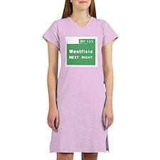 Exit 135 Westfield NJ GSP Women's Nightshirt