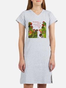 Wild Parrots Women's Nightshirt