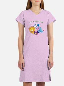Cute Wild one Women's Nightshirt