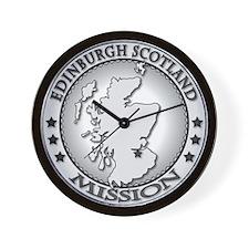 Edinburgh Scotland LDS Missio Wall Clock