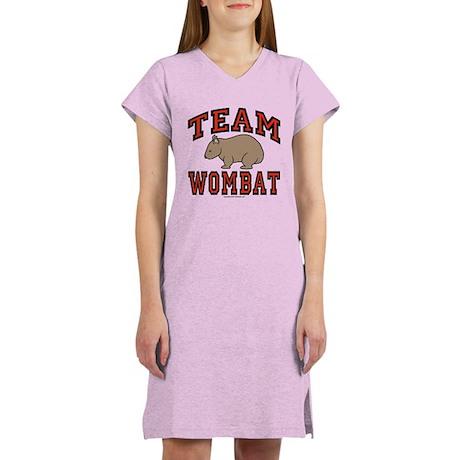 Team Wombat III Women's Nightshirt