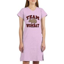 Team Wombat III Women's Nightshirt