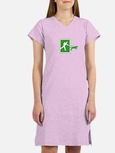 Cute Hiking Women's Nightshirt