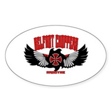 Belfast Choppers Oval Decal