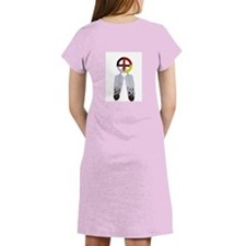 Indian Smiley Face Women's Nightshirt