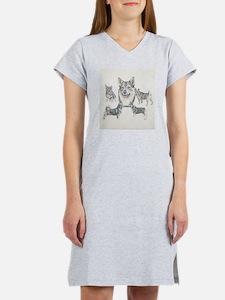 Cute Vallhund Women's Nightshirt