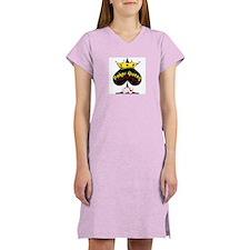Poker Queen Women's Pink Nightshirt