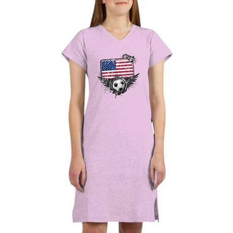 Soccer Fan United States Women's Nightshirt