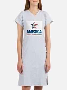 Amexica Women's Pink Nightshirt