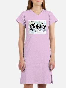 Solstice Greetings Women's Nightshirt