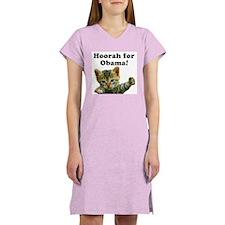 Hoorah for Obama Women's Nightshirt