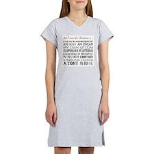All I Want ... Women's Light Pajamas