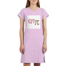 QT Pi - Girl Women's Nightshirt