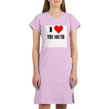 I Love The South! Women's Pink Nightshirt