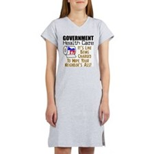 Government Health Care Women's Nightshirt