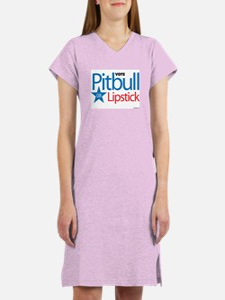 Pitbull - Lipstick - Women's Nightshirt