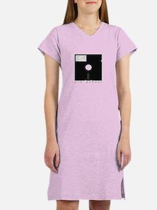Old School Floppy! Women's Nightshirt