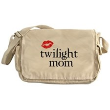 Twi Mom with Lips Messenger Bag