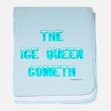 The Ice Queen Cometh baby blanket