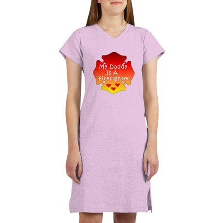 My Daddy Is A Firefighter Women's Light Pajamas