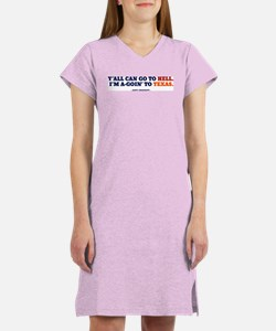 Y'all can go to OU. Women's Nightshirt