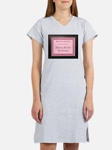Donna Martin Graduates Women's Pink Nightshirt