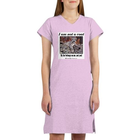 Paws Off Women's Nightshirt