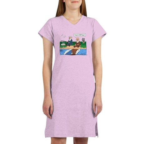 Fishing With Moses Women's Nightshirt
