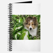 Puppy in the Leaves Journal