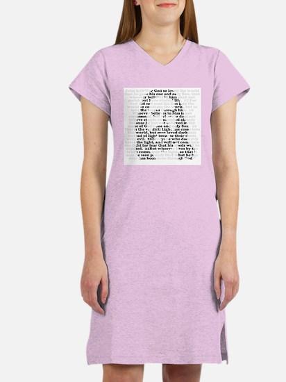 Jesus / John 3:16 - Women's Nightshirt