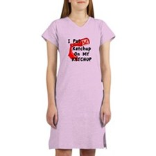 Ketchup Lovers Women's Nightshirt