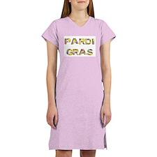 Cute Mardi gras Women's Nightshirt
