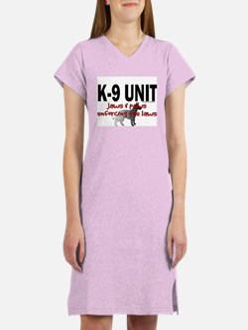 K9 UNIT: Jaws & Paws Women's Nightshirt