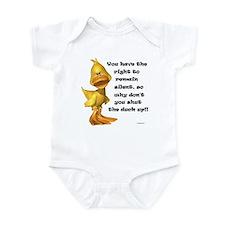 Rude Duck Infant Bodysuit