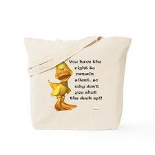 Rude Duck Tote Bag