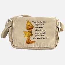 Rude Duck Messenger Bag