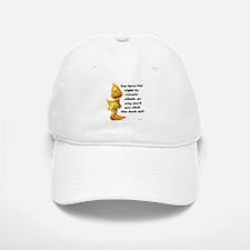 Rude Duck Baseball Baseball Cap