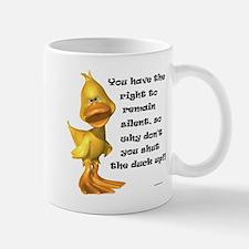 Rude Duck Mug