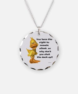 Rude Duck Necklace
