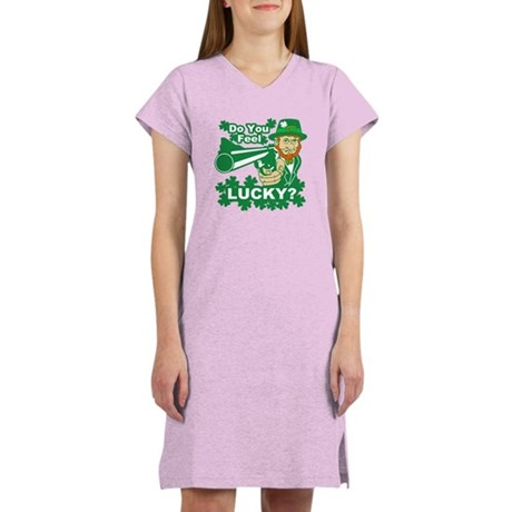 Do You Feel Lucky? Women's Nightshirt