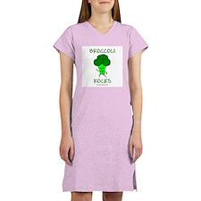 Broccoli Rocks Women's Nightshirt