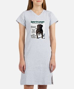 """Respect"" Women's Nightshirt"