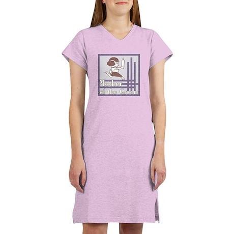Deco Mother of the Groom Women's Nightshirt