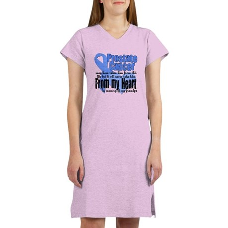 Grandpa Prostate Cancer Women's Nightshirt