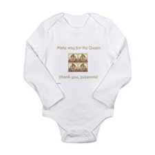 Make Way for the Queen Long Sleeve Infant Bodysuit