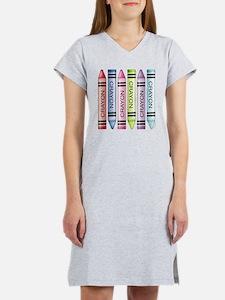 Six Crayons Women's Nightshirt