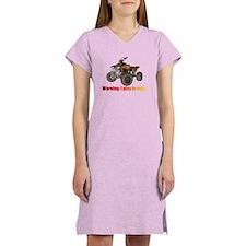 Cute 4 wheel Women's Nightshirt