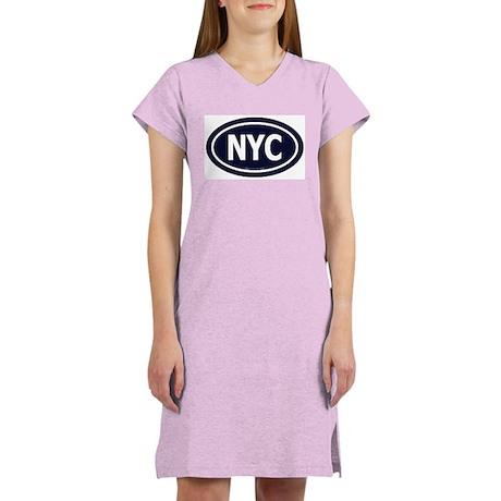 New York Euro Women's Pink Nightshirt